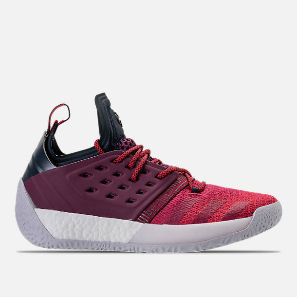 MENS ADIDAS HARDEN VOL.2 MAROON/BLACK BASKETBALL SHOES MEN'S SELECT YOUR SIZE