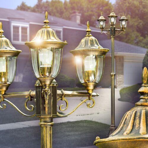 Lampadaire Luminaire extérieur Lampe de jardin Lampe sur pied Réverbère 163408