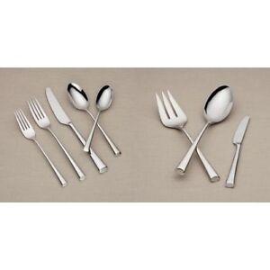Dansk-Bistro-Cafe-43-Piece-18-10-Stainless-Steel-Flatware-Set-Service-for-8