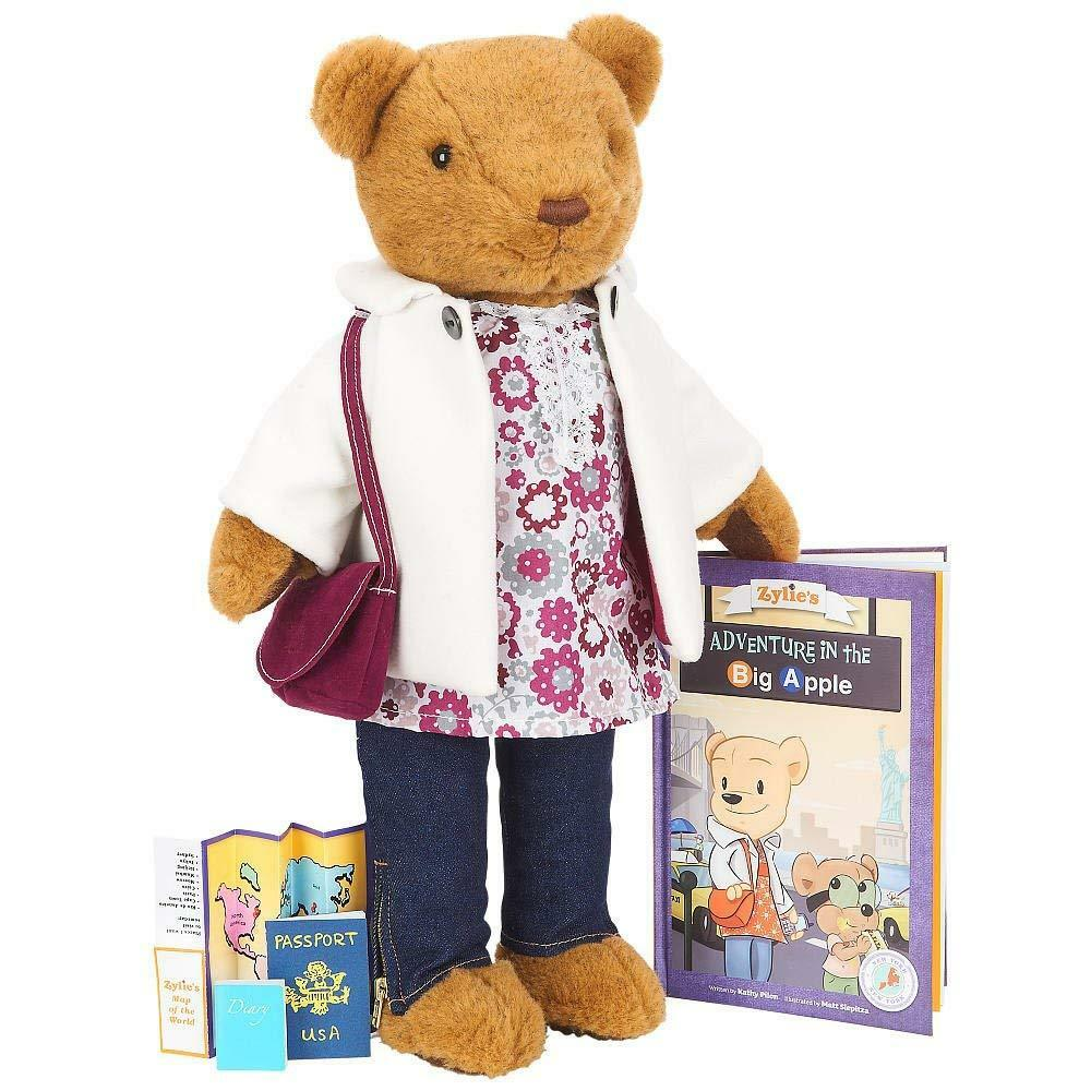 FAO Schwarz The Adventures of Zylie the Bear Kit