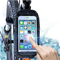 Touch Screen Bicycle Front Tube Phone Bag Holder Pouch For Iphone Samsung