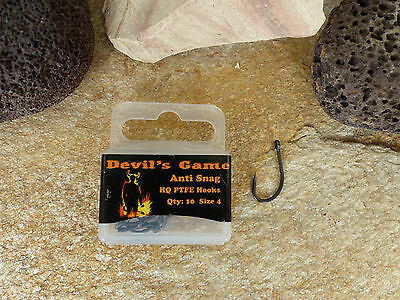 B.Richi Anti Snag Rig Haken PTFE Coated JAPAN Carp Hook Karpfen Haken