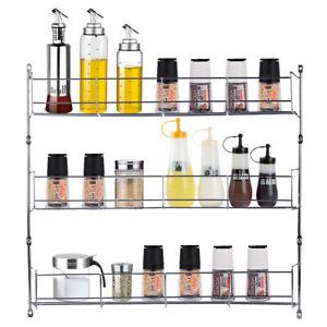 3-Etagere-A-Epices-Cuisine-Support-Rangement-Organisateur-Porte-Bouteille-Mural