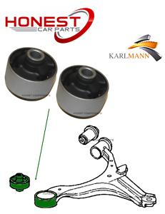 For HONDA FRV FR-V 2004-2009 FRONT SUSPENSION WISHBONE ARM BUSHS X2 Karlmann
