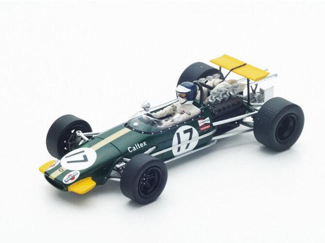 Spark Model 1 43 S4780 Brabham BT24 F.1  17 German GP 1968 Kurt Ahrens NEW