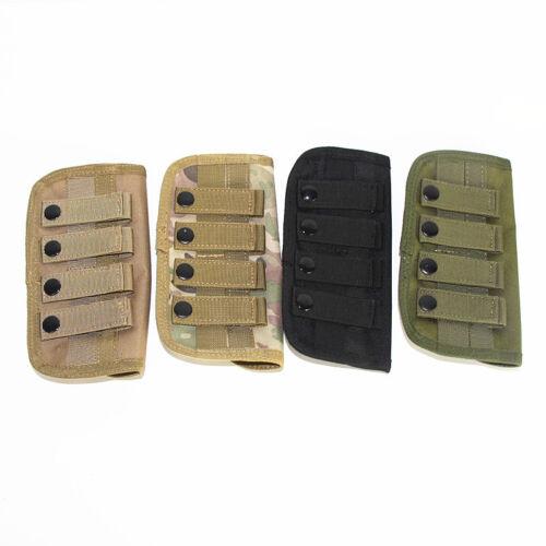 12 Round Molle Shells Cartridge Rifle Ammo Bag Pouch Bullet Holder Shotgun Shell