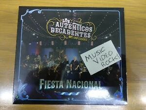 Los Autenticos Decadentes MTV Unplugged New CD + DVD Original Mexico on Hand!