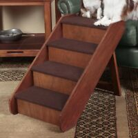 Folding Pet Stairs Step Dog Stair Steps Portable Ladder