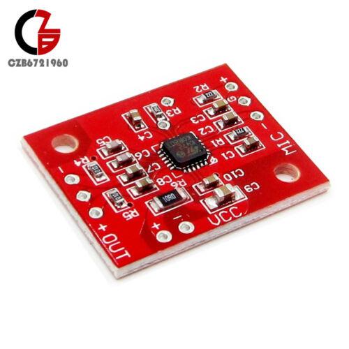 K472 Amplificador de bajo nivel de ruido micrófonos Electret Placa Módulo Reemplazar MAX9812