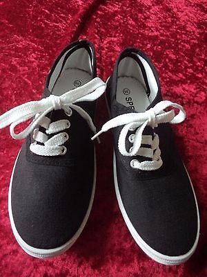 NEU Sneaker Schuhe für Jungen Gr. 36 von Sprint in schwarz (C/27)