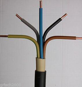 nyy j 5x2 5 mm 50m meter erdkabel starkstromkabel installationskabelkupferkabel ebay. Black Bedroom Furniture Sets. Home Design Ideas