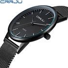 New Men's Luxury Casual Watch Sport Quartz Analog Wrist Watches Stainless Steel
