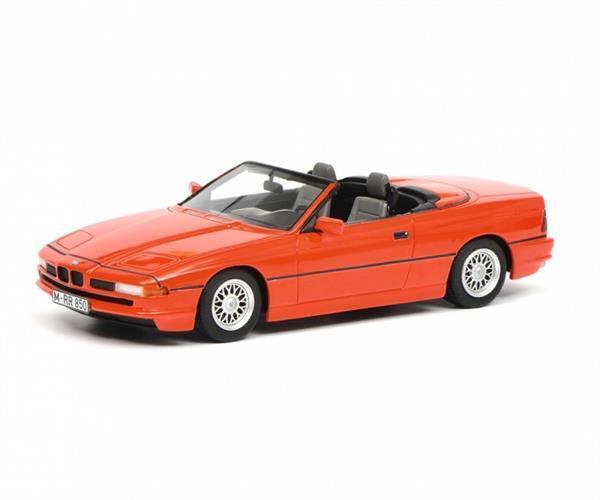 SCHUCO BMW 850i Cabriolet rouge 1 18 450006800