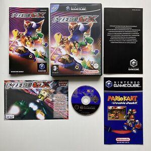 F-Zero GX GameCube Juego (2003) * Completo/En muy buena condición * Reino Unido PAL Auténticos Coleccionistas