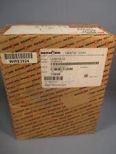 Rexnord Tabletop Conveyor Chain 10ft Length Lf821k12