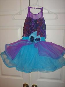 Girl-Weissman-Did-I-Mention-11308-Blue-Purple-Sequin-Ballet-Dance-Costume-SC