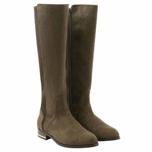 Pick Size NEW Kensie Women/'s Tayson Knee High Tall Zipper Boots Black