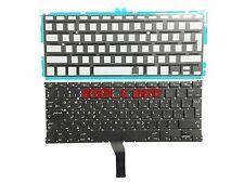 "New Macbook Air A1369 A1466 13"" Arabic keyboard +backlight لوحة المفاتيح العربية"