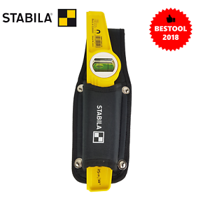 """New Stabila 81SM Die Cast magnetic level with Holster 02511 250mm 10"""" Genuine"""