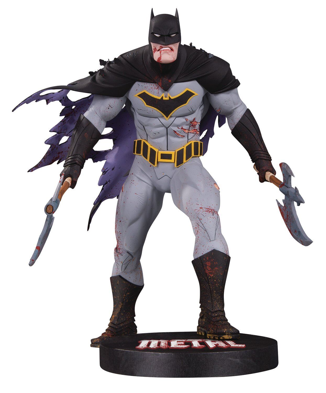 DC Collectibles DC Designer Series  Metal Batman by Greg Capullo Resin Statue