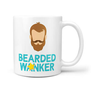 Funny Rude Wanker Gift For Bearded Man
