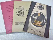 DeJur Electra Super 8 Vintage 1 Serie Istruzioni Uso Cinepresa Originale Epoca