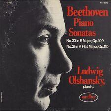 Ludwig Olshansky - Beethoven Piano Sonatas: No 30 in E Major Op. 109 [New CD]