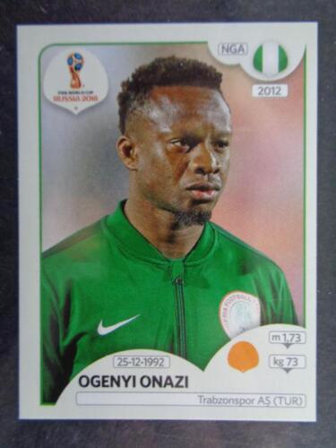Panini World Cup 2018 Russia Ogenyi Onazi Nigeria No 342