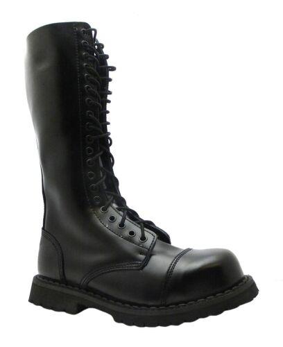 Black King Hole Toe Boots Grinders 20 Leather Cs Steel Ladies Cap Safety Men's p4wqx6BE