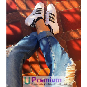 Chaussures Originales mesure Superstar sur Black Feathered Adidas Chaussures HwqtUv0
