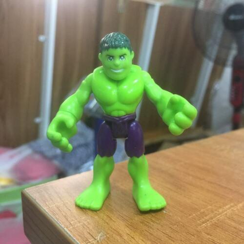 """Playskool Marvel Super Hero Squad Adventures 2.5/"""" Hulk Figure hasbro toy"""
