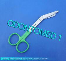 10 Bandage Scissor Green Color Handle Paramedic Ems Nurse Medical Uniform Supply