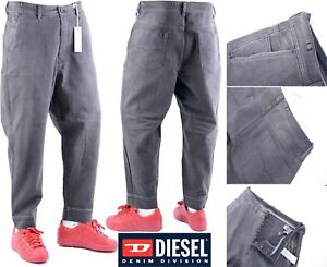 5615fc04 DIESEL CARROT-CHINO 0849T W32 Mens Denim Jeans Loose Fit Baggy Jeans ...