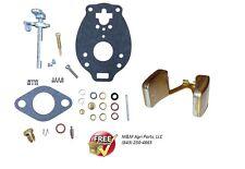 Carburetor Kit Amp Float Ih Farmall 140 200 230 240 330 340 404 424 444 Tractor