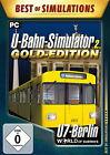 World Of Subways Vol. 2 - U-Bahn Simulator: U7 Berlin - Gold Edition (PC, 2013, DVD-Box)