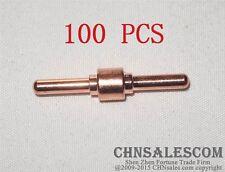 100 Pcs Ag 40 Pt 31 Extended Electrodes Plasma Cutter Cutting Consumables Cut 40