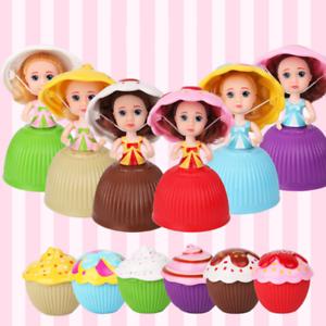 1pc Dolls Cupcake Plush Baby Toy Mini Cute Princess Transformed Scented Cake