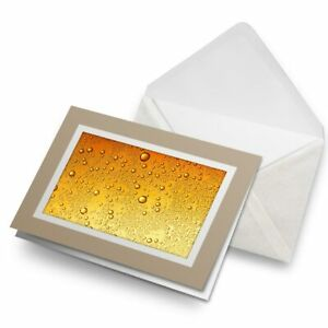 Greetings-Card-Biege-Awesome-Beer-Bubbles-Alcohol-Beverage-8275