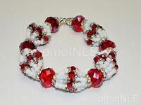Ilde Santeria Ifa Orisha Bracelet Idde Mazo Obatala Ayaguna Glass Beads Free S&h