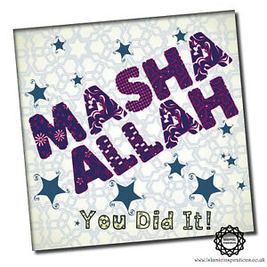 Everyday Occassion Thank you Collection Muslim Greeting Cards 150 x150mm Square