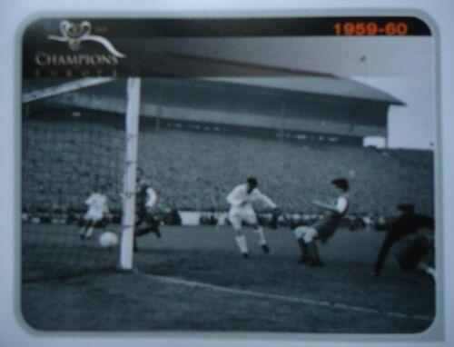 3 Champions of Europe 1955-2005 Finale 1959-60 Real Madrid Eintr Frankfurt