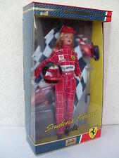 barbie scuderia ferrari team collector collection doll puppe pop 2000 NRFB 25636
