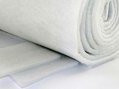 1m x 1m x 1.5cm Polyester Faser Filtermatte Filterflies Filterrolle Luftfilter