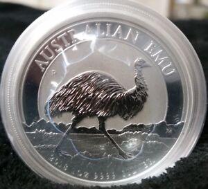 2018 1 Australia Emu 1 Oz Silver Coin 30 000 Limited