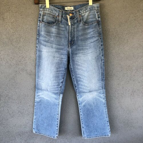Tons Crop Retro Jeans Bootcut Deux 27 Nwt 191208010042 Taille Madewell Édition Indigo H1UAxn