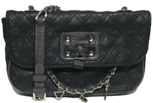 detachable Cross Woman s Strap Guess Black Color Body Adjustable qY5d05 56db35279