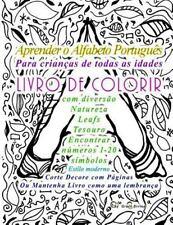 Aprender o Alfabeto Português para Crianças de Todas As Idades LIVRO de...