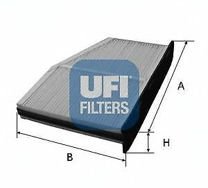 Filtro abitacolo UFI 53.148.00 AUDI SEAT SKODA VW