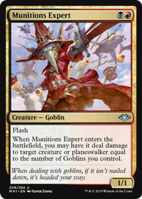 X4 Munitions Expert Horizons NM Playset Magic the Gathering