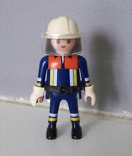 PLAYMOBIL (G2210) POMPIERS - Pompier en Tenue d'Intervention 4819 4820 4821